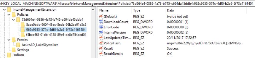 Deep dive Microsoft Intune Management Extension – PowerShell Scripts