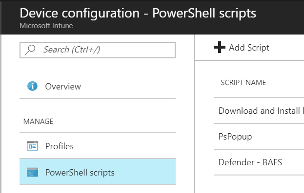 PowerShellScriptsIntune