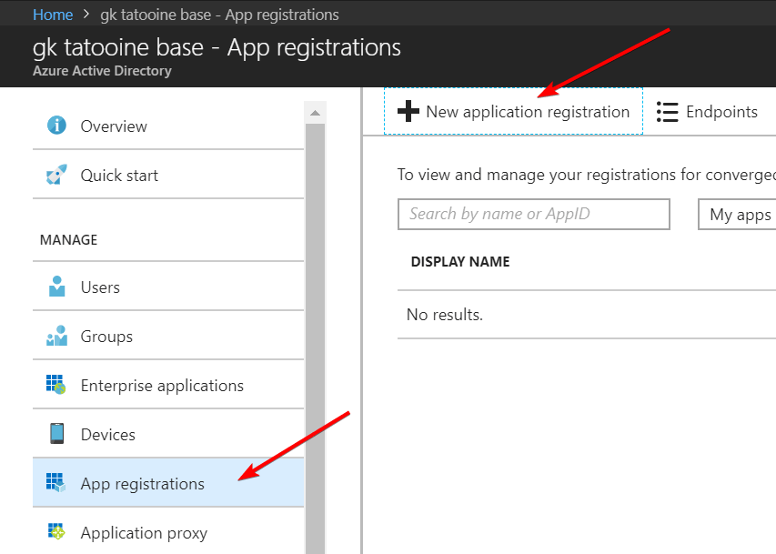 AddAppRegistration