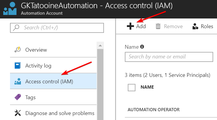 AzureAutomationAccessControl