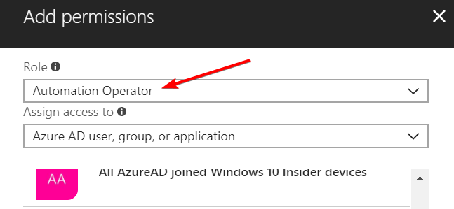 AzureAutomationAccessControlDetail