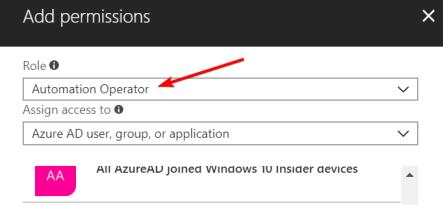AzureAutomationAccessControlDetail