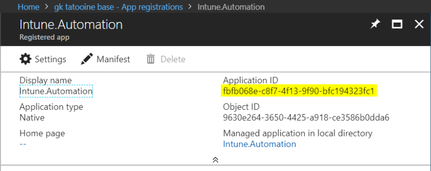 Delete Device From Intune