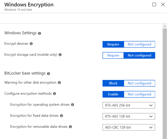 Enabling BitLocker on non-HSTI devices with Intune – Modern IT