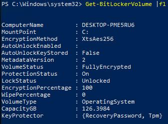 BitLockerVMPSStatus