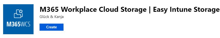 M365 Workplace Cloud Storage