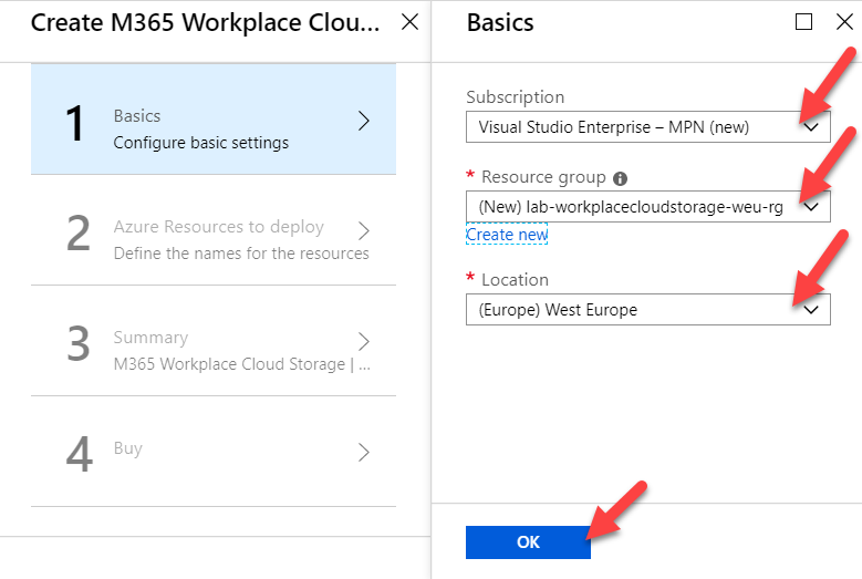 Cloud Storage management solution for Intune managed clients