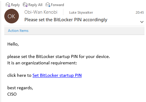 How to enable Pre-Boot BitLocker startup PIN on Windows with