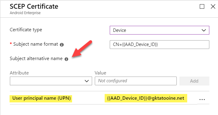 The easy way to deploy device certificates with Intune