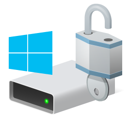 BitLocker disk icon