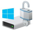 BitLocker disk icon