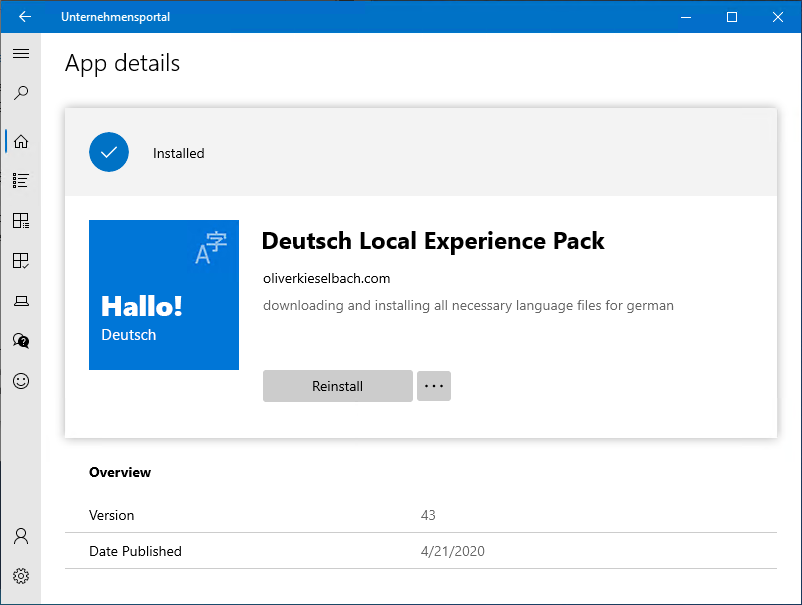 How To Completely Change Windows 10 Language With Intune Modern It Cloud Workplace