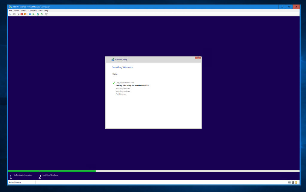 Hyper-V VM Connect with high resolution