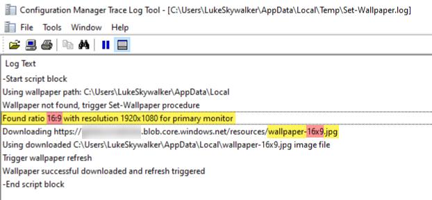Set-Wallpaper script detecting aspect ratio